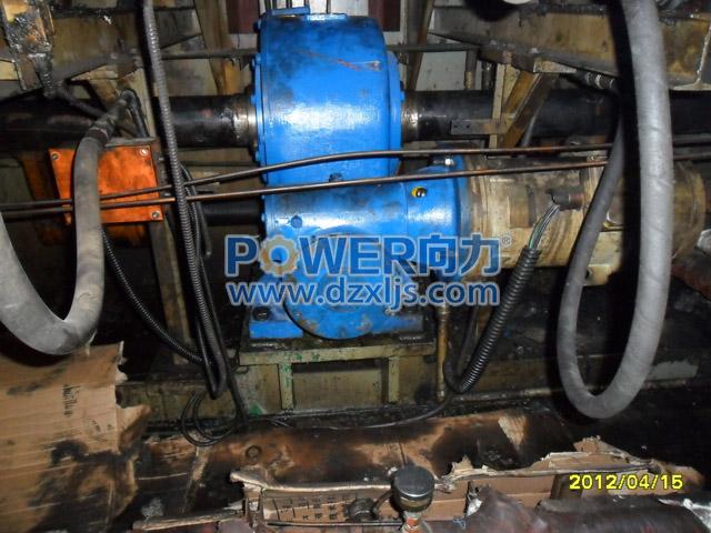 配套硫化机-125/250双极平面二次包络环面蜗杆减速器