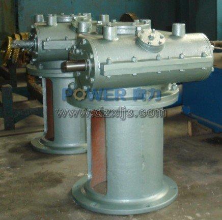 配套癸二酸化工厂WF250包络环面减速机